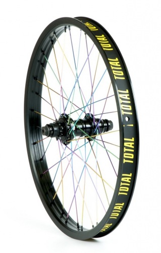 Total BMX TECHFIRE REAR WHEEL Black/Rainbow